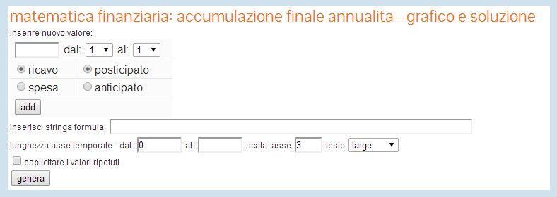 etutor - docente virtuale di estimo - solutore esercizi matematica finanziaria - GRATIS!